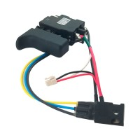 Interrupteur 6505789 pour perforateur Makita BHR162 et BHR202