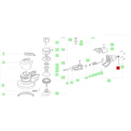 Joint torique Festool 704784 ponceuse LEX 2, LEX 3, LRS 400, LRS 93