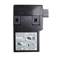 Interrupteur Makita 6519223 TG71B : 2414NB, 5703R, LS0714FL, UC4020A