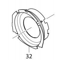 Déflecteur d'air 455354-4 scie circulaire Makita HS6601, HS7601