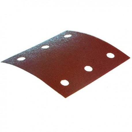 10 feuilles abrasives Makita 114x102 mm - Grain 40 - ref. P-33087