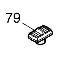 Levier anti basculement 419621-1 pour scie Makita CA5000, SP6000