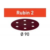 Abrasifs Festool 499078 Rubin 2 - Ø90 - Grain 60 - RO 90 DX