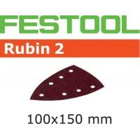 Abrasif Festool 499137 Rubin 2 - 100 x 150 - P120 - DTS 400
