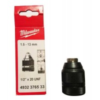 "Mandrin Milwaukee autoserrant 1/2""x20 13mm"