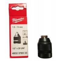 Mandrin Milwaukee auto-serrant 13mm