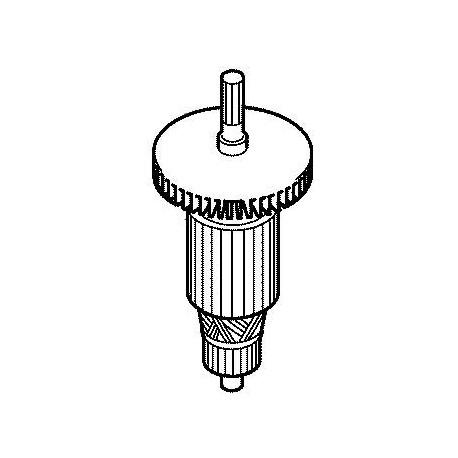 Induit 516803-7 pour burineur Makita HM1202C, HM1242C