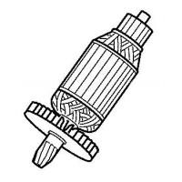Induit Makita pour scie radiale LS1214, LS1214F