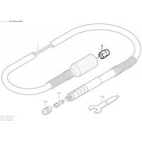 Écrou de serrage flexible Dremel 225 - 2 610 916 116 - 2610916116