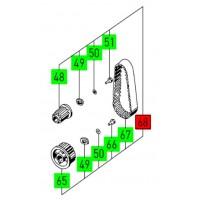 Jeu de rechange transmission à courroie BS 75 - FESTOOL - 490919