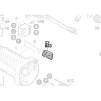 Interrupteur Bosch 1 619 P10 838 - GWS 7-125, GWS 18 V-LI