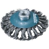 Brosse à fils acier torsadés pour meuleuse - Makita - D-39883