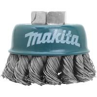 Brosse à fils acier torsadés pour meuleuse - Makita - D-24131