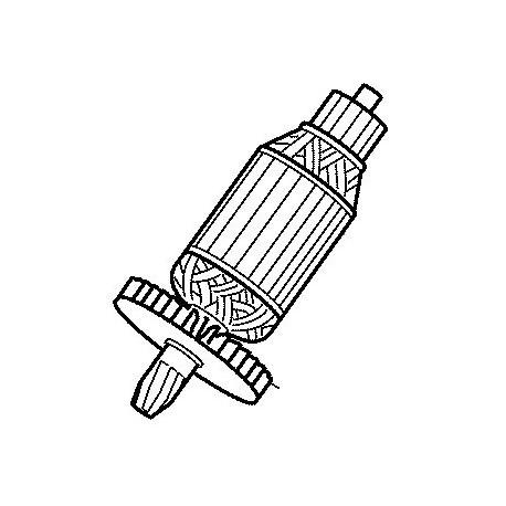 Induit Makita pour scie radiale LS1214L