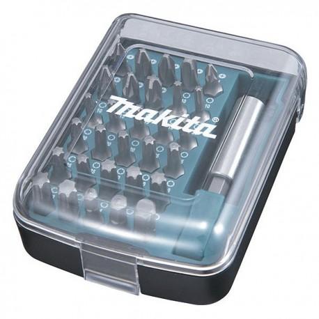 Coffret d'embouts 30 embouts + Porte embout magnétique Makita