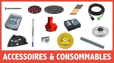 Accessoires pour machine éléctroportatives